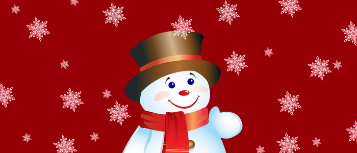 Christmas Snow, save Chocolate the Snowman